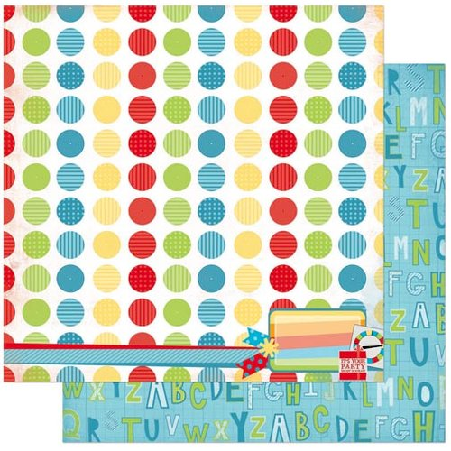 Bo Bunny - Surprise Collection - 12 x 12 Double Sided Paper - Dots