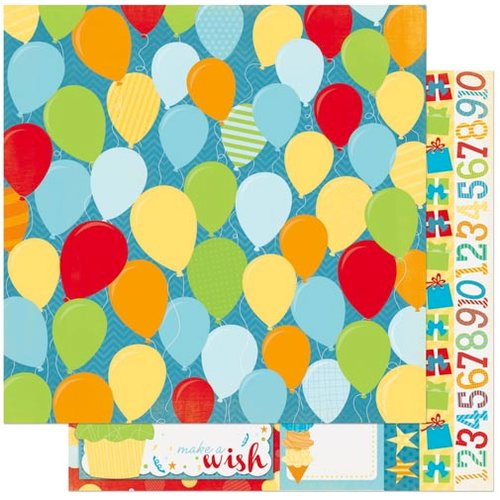 Bo Bunny - Surprise Collection - 12 x 12 Double Sided Paper - Pop