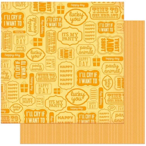 Bo Bunny Press - Surprise Collection - 12 x 12 Double Sided Paper - Twist