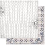 Bo Bunny - Isabella Collection - 12 x 12 Double Sided Paper - Rose