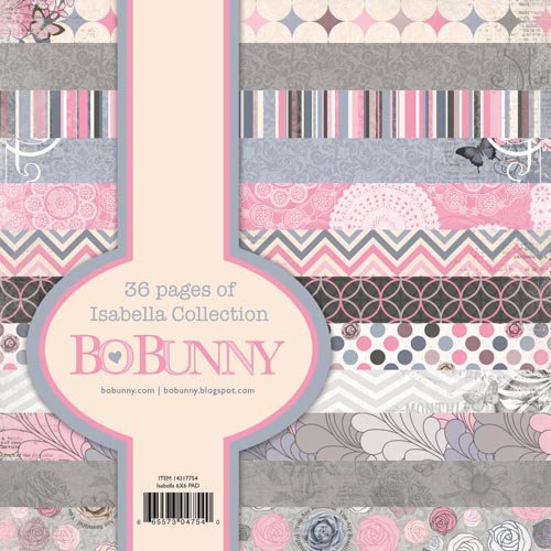 Bo Bunny - Isabella Collection - 6 x 6 Paper Pad