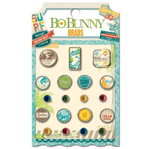 Bo Bunny - Key Lime Collection - Brads