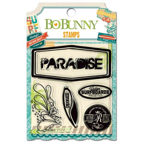 Bo Bunny - Key Lime Collection - Clear Acrylic Stamps
