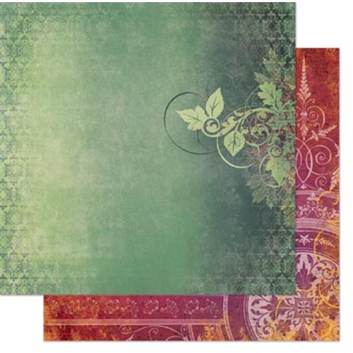 Bo Bunny - Autumn Song Collection - 12 x 12 Double Sided Paper - Melody