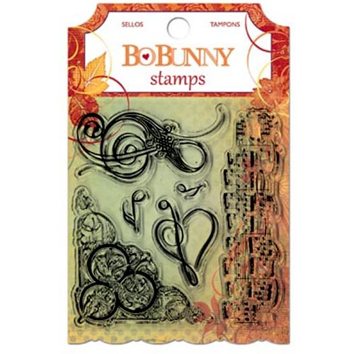 Bo Bunny - Autumn Song Collection - Clear Acrylic Stamps