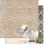 Bo Bunny - The Avenues Collection - 12 x 12 Double Sided Paper - Antique
