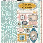 Bo Bunny - The Avenues Collection - 12 x 12 Cardstock Stickers - Combo