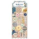 Bo Bunny - The Avenues Collection - Buttons