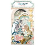 Bo Bunny - The Avenues Collection - Noteworthy Journaling Cards