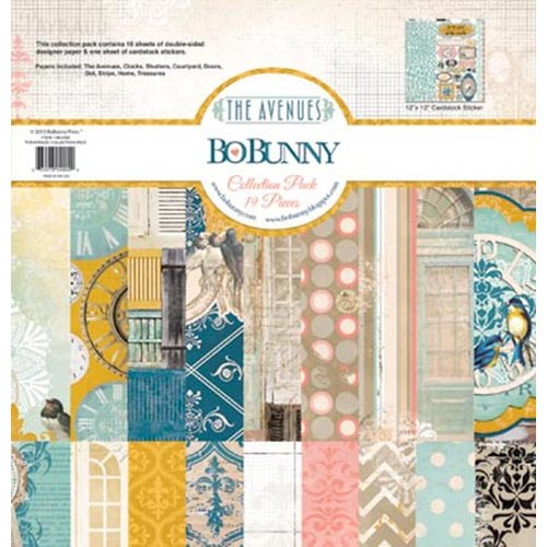 Bo Bunny - The Avenues Collection - 12 x 12 Collection Pack