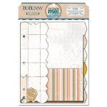 Bo Bunny - The Avenues Collection - Misc Me - Journal Divider Inserts