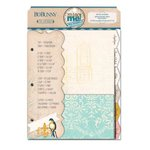 Bo Bunny - The Avenues Collection - Misc Me - Recipe Divider Inserts