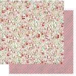 Bo Bunny - Elf Magic Collection - Christmas - 12 x 12 Double Sided Paper - Fa La La La La