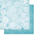 Bo Bunny - Elf Magic Collection - Christmas - 12 x 12 Double Sided Paper - Snow Flake