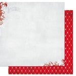 Bo Bunny - Elf Magic Collection - Christmas - 12 x 12 Double Sided Paper - Tinsel