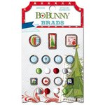 Bo Bunny - Elf Magic Collection - Christmas - Brads