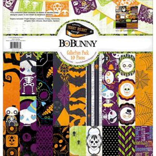 Bo Bunny - Fright Delight Collection - 12 x 12 Collection Pack