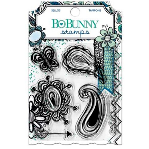 Bo Bunny - Zip-a-dee-doodle Collection - Clear Acrylic Stamps