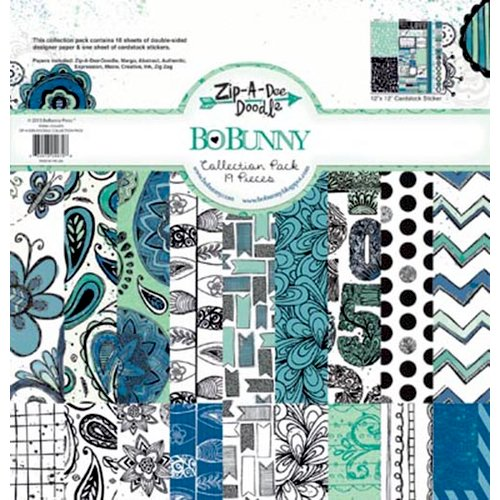 Bo Bunny - Zip-a-dee-doodle Collection - 12 x 12 Collection Pack