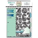 Bo Bunny - Zip-a-dee-doodle Collection - Misc Me - Journal Divider Inserts