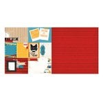 Bo Bunny - Happy Tails Collection - 12 x 12 Double Sided Paper - Cat Nap