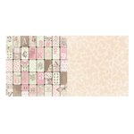 Bo Bunny - Primrose Collection - 12 x 12 Double Sided Paper - Primrose