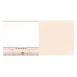 Bo Bunny - Primrose Collection - 12 x 12 Double Sided Paper - Cottage
