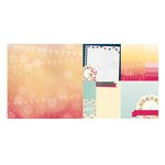 Bo Bunny - Modern Miss Collection - 12 x 12 Double Sided Paper - Dramatic
