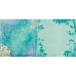 BoBunny - Enchanted Garden Collection - 12 x 12 Double Sided Paper - Enchanted Garden