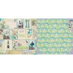 Bo Bunny - Enchanted Garden Collection - 12 x 12 Double Sided Paper - Fairies