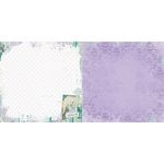 Bo Bunny - Enchanted Garden Collection - 12 x 12 Double Sided Paper - Imagine