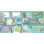 Bo Bunny - Enchanted Garden Collection - 12 x 12 Double Sided Paper - Pixies