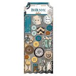 Bo Bunny - Somewhere In Time Collection - Buttons