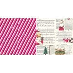 Bo Bunny - Candy Cane Lane Collection - Christmas - 12 x 12 Double Sided Paper - December
