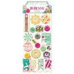 Bo Bunny - Candy Cane Lane Collection - Christmas - Buttons
