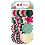 Bo Bunny - Candy Cane Lane Collection - Christmas - Flower Embellishments - Petals
