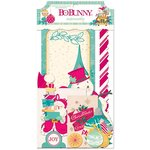 Bo Bunny - Candy Cane Lane Collection - Christmas - Noteworthy Journaling Cards