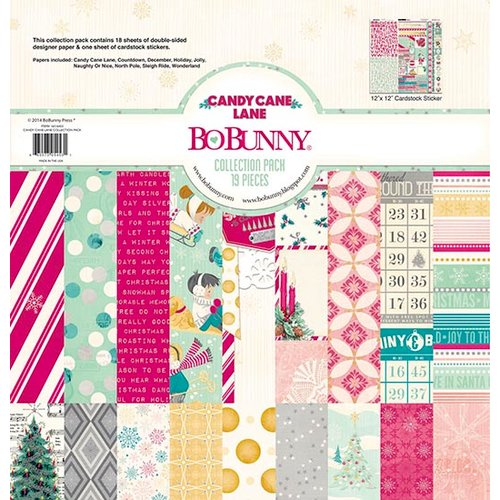 Bo Bunny - Candy Cane Lane Collection - Christmas - 12 x 12 Collection Pack