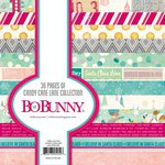 Bo Bunny - Candy Cane Lane Collection - Christmas - 6 x 6 Paper Pad