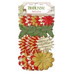 Bo Bunny - Christmas Collage Collection - Flower Embellishments - Petals