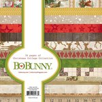 Bo Bunny - Christmas Collage Collection - 6 x 6 Paper Pad