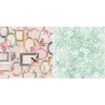 Bo Bunny - Madeleine Collection - 12 x 12 Double Sided Paper - Allure