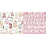 Bo Bunny - Madeleine Collection - 12 x 12 Double Sided Paper - Exquisite