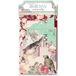Bo Bunny - Madeleine Collection - Noteworthy Journaling Cards