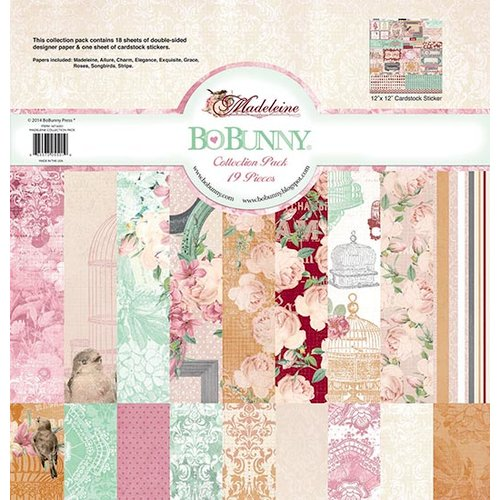 Bo Bunny - Madeleine Collection - 12 x 12 Collection Pack