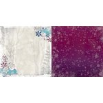 Bo Bunny - Altitude Collection - Christmas - 12 x 12 Double Sided Paper - Altitude