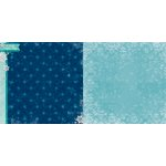 Bo Bunny - Altitude Collection - Christmas - 12 x 12 Double Sided Paper - Chilly