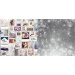 Bo Bunny - Altitude Collection - Christmas - 12 x 12 Double Sided Paper - Cozy