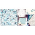 Bo Bunny - Altitude Collection - Christmas - 12 x 12 Double Sided Paper - Wonderland