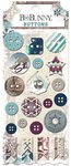 Bo Bunny - Altitude Collection - Christmas - Buttons